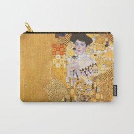Gustav Klimt - Portrait of Adelle Bloch Bauer Carry-All Pouch