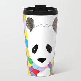 Patchwork Panda Travel Mug