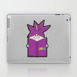 Reading Rainbow in Harmony - Purple Laptop & iPad Skin
