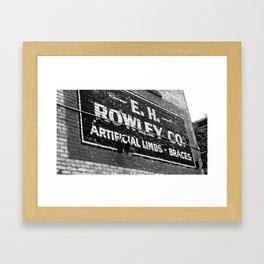 Rowley Framed Art Print