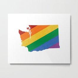 Washington Pride Metal Print