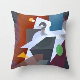 The stolen planet Throw Pillow