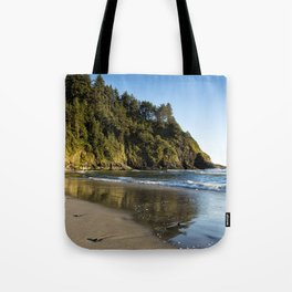 By the Side of the Sea Tote Bag
