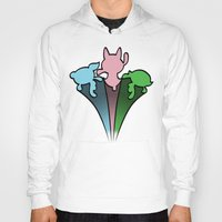 powerpuff girls Hoodies featuring Powerpuff Girls by SBTee's