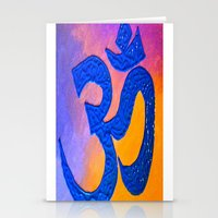 ohm Stationery Cards featuring Ohm by KD Ives