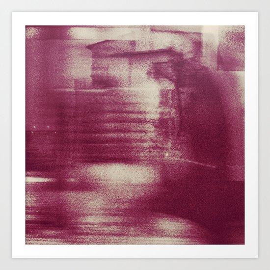 """Sthlm tunnelbana"" Art Print"
