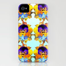 Royal Pansy iPhone (4, 4s) Slim Case