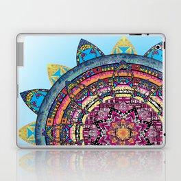 Circle of Emotions in Blue Laptop & iPad Skin