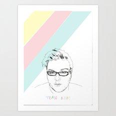 Team Ash 2 Art Print