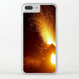 The Fire Has Life Clear iPhone Case