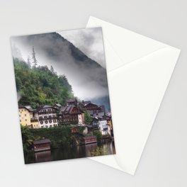 Dreamy Austrian village: Hallstatt Stationery Cards