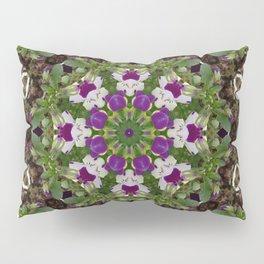 pansies mandal Pillow Sham