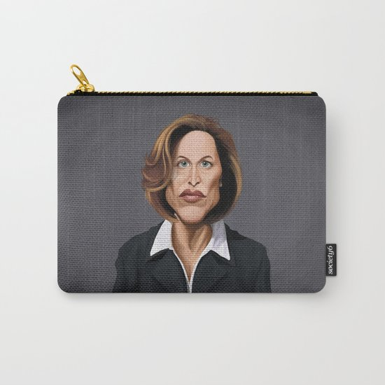 Celebrity Sunday ~ Gillian Anderson Carry-All Pouch