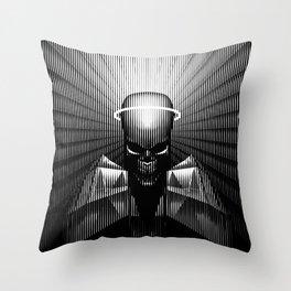 No Saints Throw Pillow