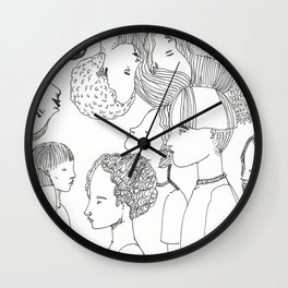 Everyone We Know Wall Clock