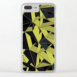 3D Futuristic GEO V Clear iPhone Case