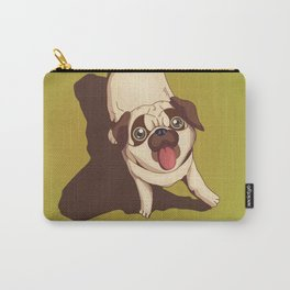 Pug in the Park Carry-All Pouch