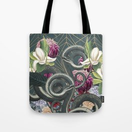 Tangled snakes Tote Bag