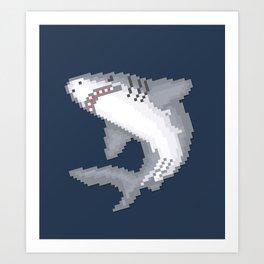 Shark Byte Art Print