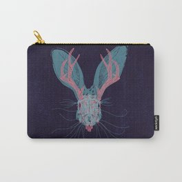 Jackelope Skull Carry-All Pouch