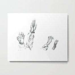Praises Metal Print