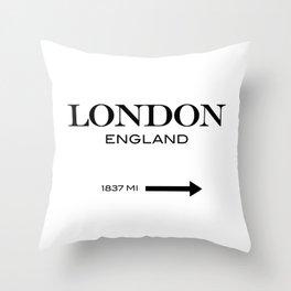 London - England Throw Pillow