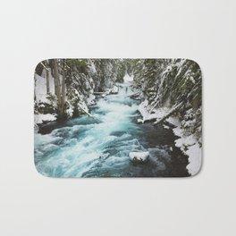 The Wild McKenzie River - Nature Photography Bath Mat