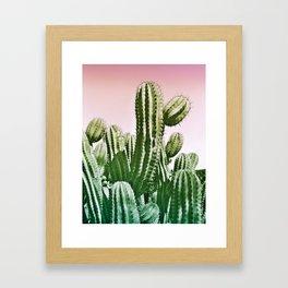 Wild Cactus from Desert Framed Art Print
