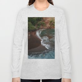 Maui in Red Long Sleeve T-shirt