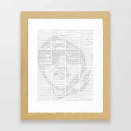 Industrial Society and Its Future Framed Art Print