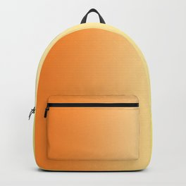 Orange to Yellow Ombre Backpack