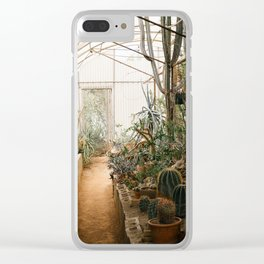 Desert Cactus and Succulent Garden, Palm Springs Clear iPhone Case