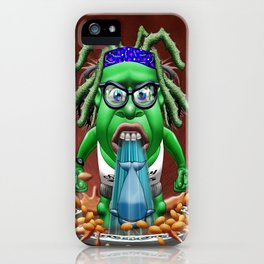 Marvin Was Moby Dick Over His Baked Beans iPhone Case