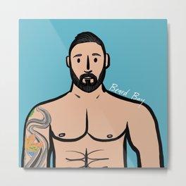 Beard Boy: Robert Metal Print
