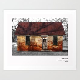 The Tin House Art Print