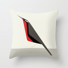 Loica chilena / Long-tailed meadowlark Throw Pillow