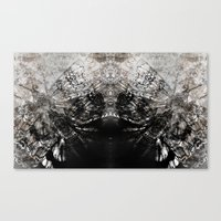 moth Canvas Prints featuring MOTH by ED design for fun
