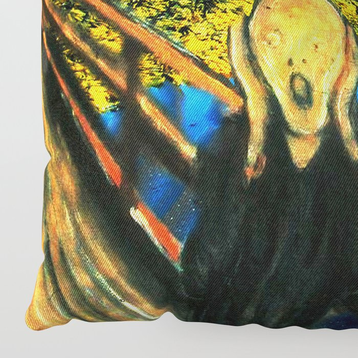Edvard meets Vincent Floor Pillow