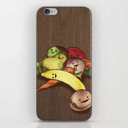 Fruit With Faces iPhone Skin