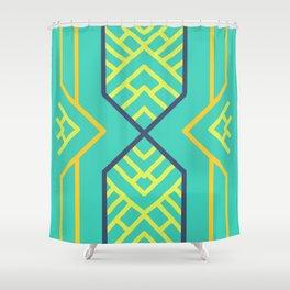 Lemon Berry Shower Curtain
