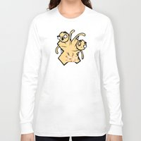 x men Long Sleeve T-shirts featuring X-Men by Artistic Dyslexia