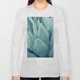 Agave Vibes #2 #tropical #decor #art #society6 Long Sleeve T-shirt