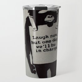 Banksy  Travel Mug