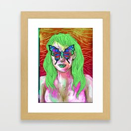 The Twin Framed Art Print
