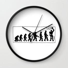 Evolution Modulor Wall Clock