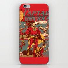 Captain Obvious! iPhone Skin