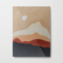 Moon Mountain I Metal Print