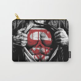 Superman Blood Logo Carry-All Pouch