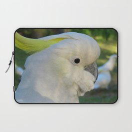 Sulphur Crested Cockatoo Laptop Sleeve