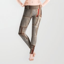 Æ leser Leggings